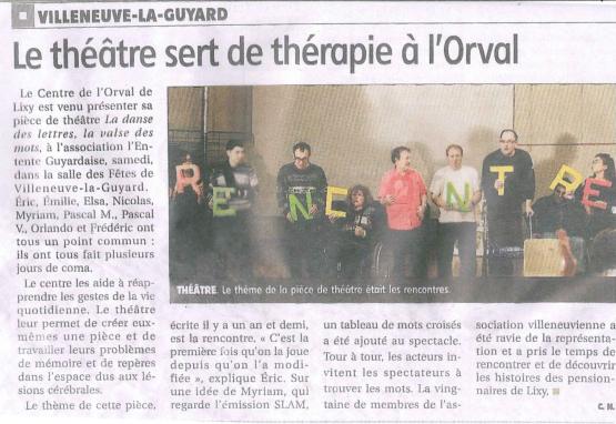 Article Théâtre